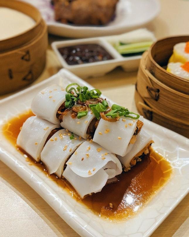 Crispy Beancurd Roll Cheong Fun