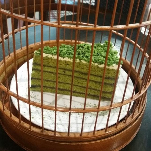 Matcha Sesame Cake ($12.90++)