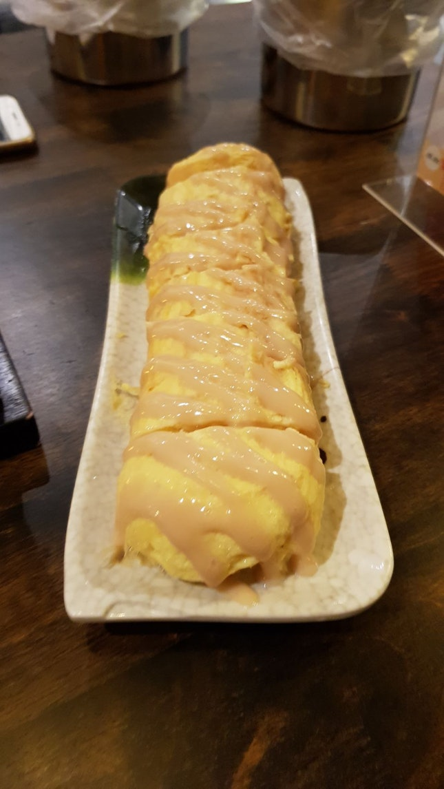 Mustard Cheese Egg Roll