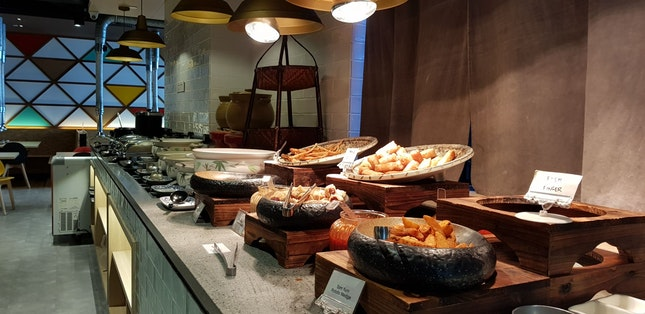 Lunch Buffet - Cooked Food Spread $29.80++