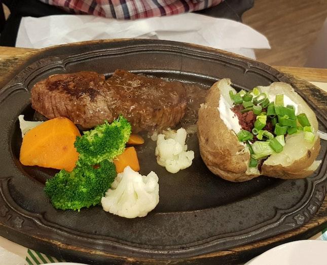 Black Pepper Steak ($29.90++)
