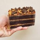 Peanut Butter Chocolate Cake $6.50