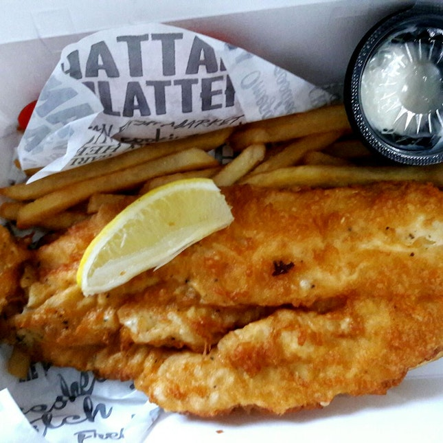 Crispy Dory Fish and Chips (takeout)