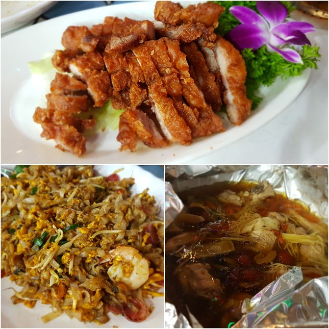 Great Finding! (Fermented Pork Belly, Char Kway Teow, Rice Wine Sachet Chicken)