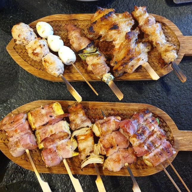 Chicken And Pork Platter
