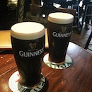 early afternoon Guinness.