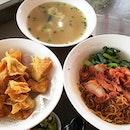Wanton Mee 😋😋😋🍜 #liangswantonnoodles #thebedokmarketplace #Bedok #melfclar  #noodles #wantonmee #sunday