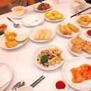 Dim sum buffet 😋😋 #veryengandfamily #melfclar #peachgarden #peachgardensg