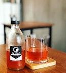 Cold brew tea 😋❤️❤️❤️ #melfclar #fatcatsg #fatcaticecreambar #coldbrewtea
