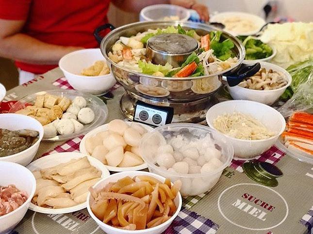 Hotpot reunion dinner ❤️ #melfandfamily #reuniondinner #melfclar #hotpot