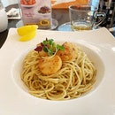 ❤️🍝 #aglioolio #pasta #scallops