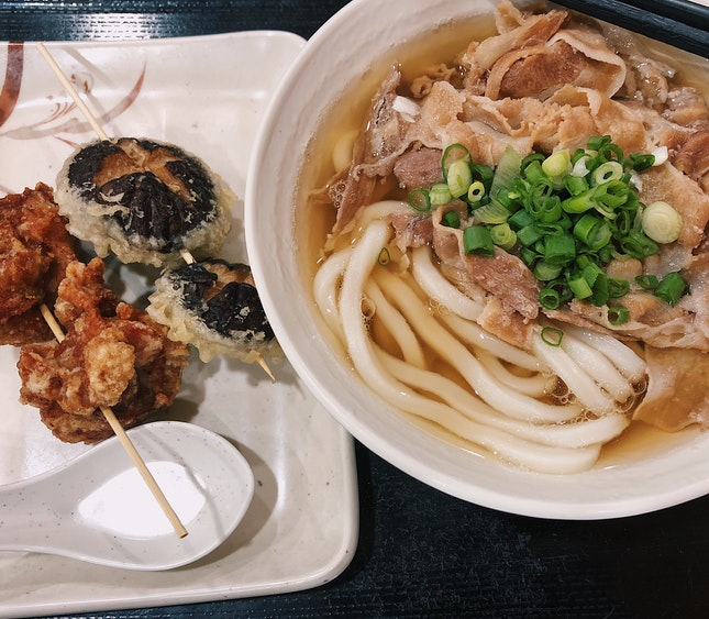 Delicious And Inexpensive Udon