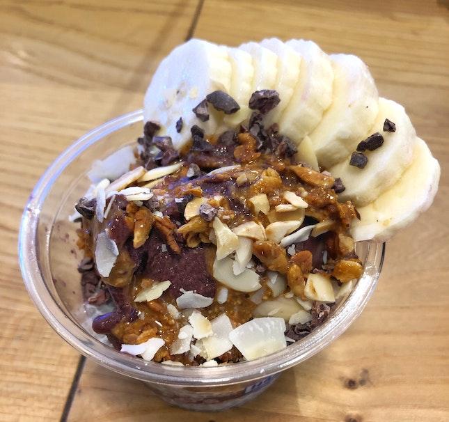 Nut Butter & Acai Bowl