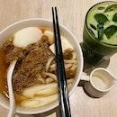 Lunch at @nanasgreenteasingapore.