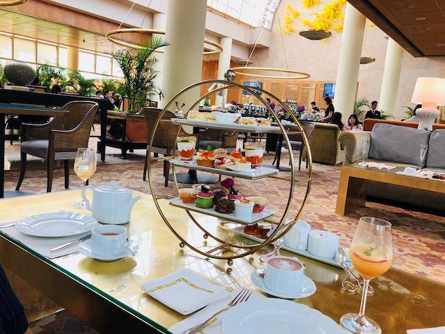 High Tea -Ritz Carlton