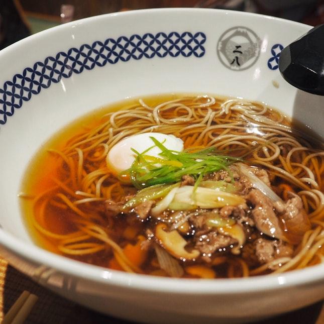 Sukiyaki Soba