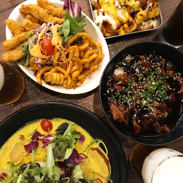 Halal Fusion Asian/Western Dishes