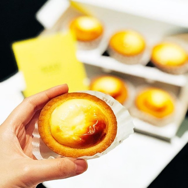 Cheese Tart [6 for $10]  Cause good things(news) must share!