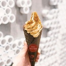 Tea King Ice Cream [S$2.80] ・ Hot weather calls for some @HeyTea ice cream!
