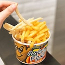 Filipino french fries chain @PotatoCornerSG has opened an outlet at @JewelChangiAirport!