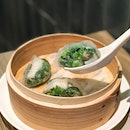 Spinach Dumplings with Shrimp [S$5.00/3pcs] Baked BBQ Pork Buns [S$6.30/pcs] Pork Dumplings in Hot & Spicy Sauce [S$6.50/4pcs] ・ Cheers to the opening of @THWSingapore at @Waterway_Point!