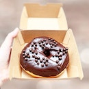 70% Dark Chocolate Donut [S$4.50] Cinnamon Donut Holes [S$4.50] ・ Cheers to American size donuts and donut holes from @KorioSG!