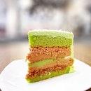 Ondeh Ondeh Cake [S$8.30/slice] ・ 人日快乐everybody!🎉Celebrating with @CedeleSingapore CNY special bake.