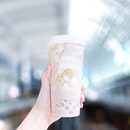 Taro Bobo Tea [S$7.80] ・ Featuring my favourite drink from @HeyTeaSG and also probably the most 'shiok' Orh Nee bubble tea I could find in Singapore💜 ・ And yes, they offer island-wide delivery as well!