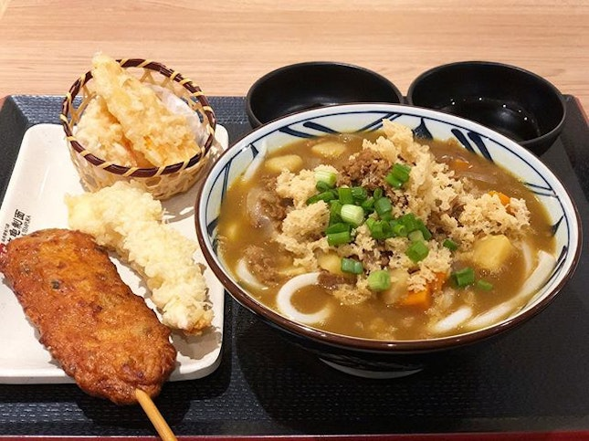 Tried Marugame Udon & Tempura today because I missed the curry udon which I had during my university days.