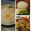 #breakfast for #champions 👑👑👑 #alimuthuahhock #softboiledeggs #nasilemak #cheecheongfun #burp #happyweekend #happytummy #happygirl 👧 👧 👧 👫👫👫
