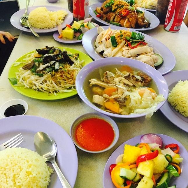 Best Chicken Rice In SG!