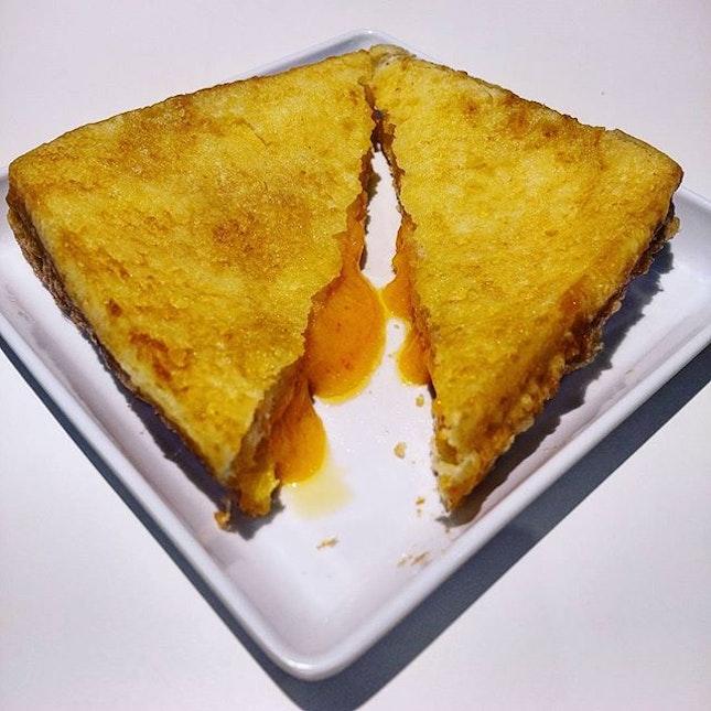 7.0/10  Liusha French Toast from toast box.