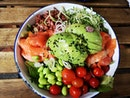 Salmon Alvocado Salad