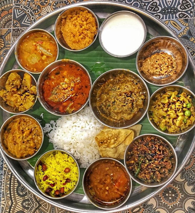 Andhra Style Thali