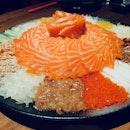 Salmon Yee Sang (RM118)