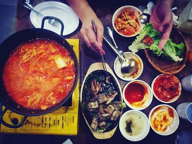 RM30 Korean BBQ unlimited buffet without the hassle of grilling your meat!