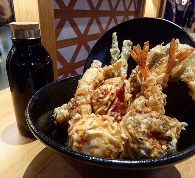 Special Tendon - Prawn, Chicken, Egg & Assorted Vegtables ($13.80)