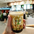 Brown Sugar Boba Milk w Cheese Brulee ($4.80) | Starting 2019 with yet another brown sugar post!