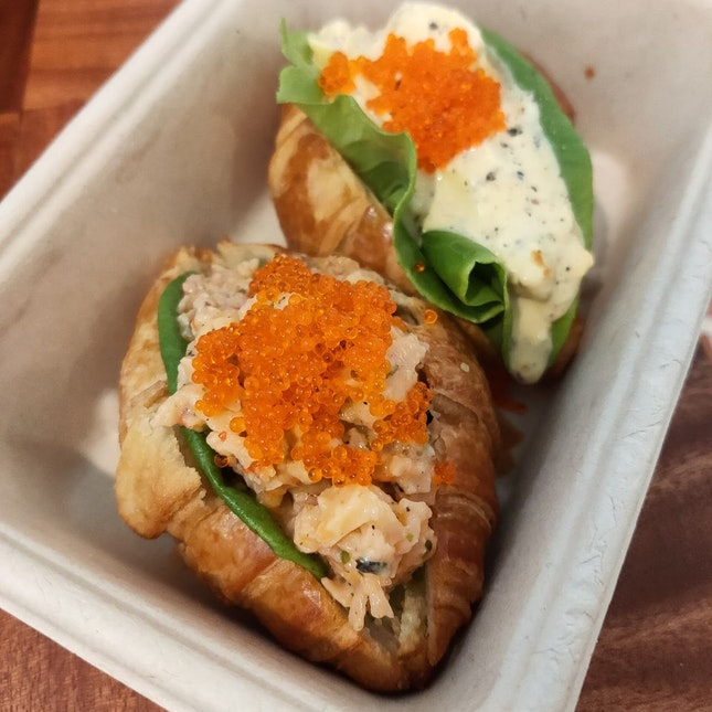 Mini Croissant for Two - Egg Mayo & Slipper Lobster Mayo ($7.80++)