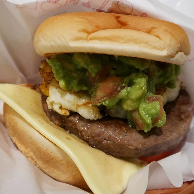 Guacamole Wagyu Burger ($8.65)