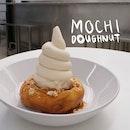 Mochi Doughnut with Soft Serve Ice Cream ($15)