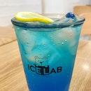 Blue Lemonade 🍋🍋🍋 #icelab #lemonade #lemon #sparkling #icecube #koreanstyle #koreandessert #foodie #foodporn #foodiegram #drinks #seoul #singapore #weekday #publicholiday #burpple #burpplesg