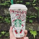 Just the way you are 💁🏻♂️💁🏻♂️💁🏻♂️ #afterwork #rainyday #tired #tomorrowwillbebetter  #starbucks #christmasdrinks #vanillanougatlatte #drinks #latte #coffee #foodie #foodporn #foodiegram #hardlife #weekday #burpple #burpplesg