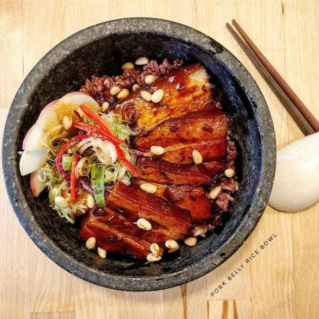 Pork Belly Rice Bowl ($19 nett)