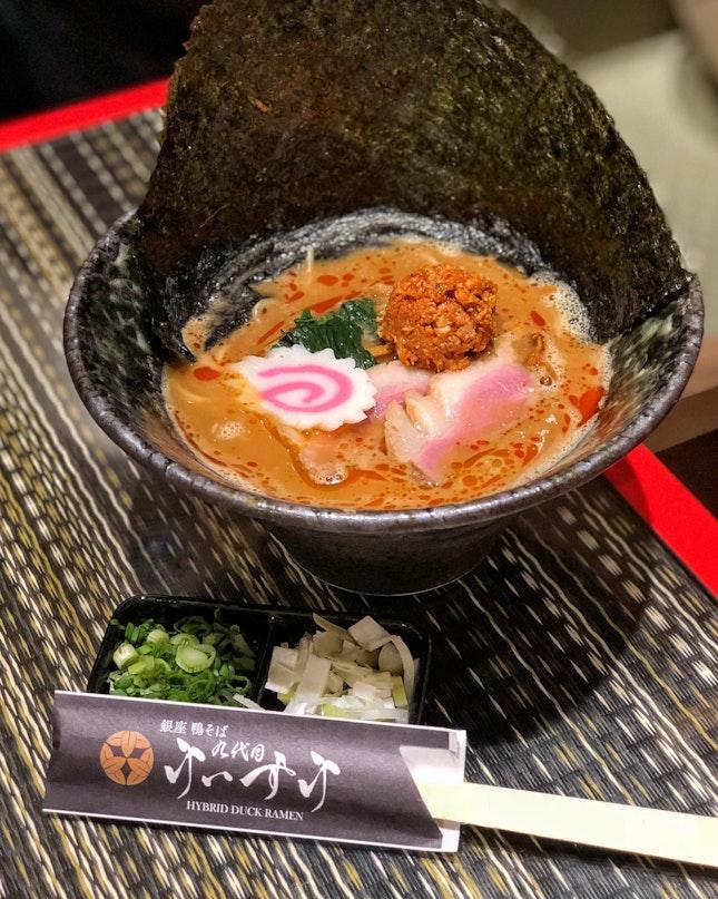Spicy Miso Duck Ramen