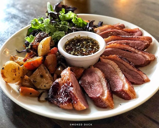 Smoked Duck @ Royz eat Vous .