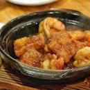 银丝XO鱼鳔珍虾煲 .