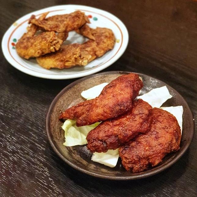 Famous Nagoya Fried Chicken Wings & Horse Sashimi @ Sekai no Yama-chan 世界の山ちゃん : : #japan #日本 #kyushu #九州 #kumamoto #熊本 #mobilephotography #holiday #holidays #tourist #food, #foodie #foodies #burpple #foodporn #instafood #gourmet #foodstagram #yummy #yum #foodphotography #sekainoyamachan #世界の山ちゃん #nagoya #chickenwings #fried #horse #sashimi #izakaya