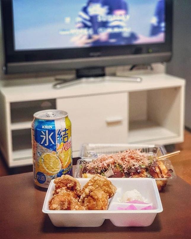 Last Supper in Fukuoka ⚾🍺🐔🐙 : : #japan #日本 #kyushu #九州 #fukuoka #福岡 #travel #mobilephotography #holiday #holidays #tourist #food #foodie #foodies #burpple #foodporn #instafood #gourmet #foodstagram #yummy #yum #foodphotography #supper #beer #baseball #friedchicken #takoyaki #たこ焼き #唐揚げ #ビール