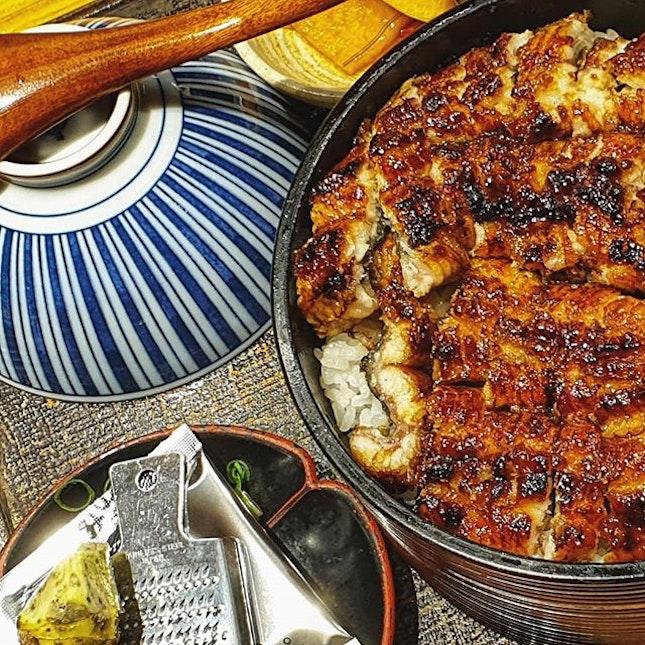 Hitsumabushi ひつまぶし : : #singapore #sg #igsg #sgig #sgfood #sgfoodies #food #foodie #foodies #burpple #burpplesg #foodporn #foodpornsg #instafood #gourmet #foodstagram #yummy #yum #foodphotography #nofilter #weekend #dinner #hitsumabushi #ひつまぶし #japanesefood #unagi #eel #rice #wasabi #manmanunagirestaurant